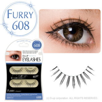 D.U.P Eyelash ( eyelashes ) FURRY 608