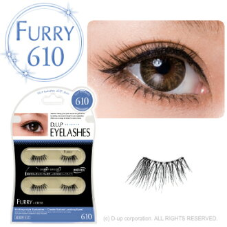 D.U.P Eyelash ( eyelashes ) FURRY 610