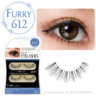D.U.P Eyelash ( eyelashes ) FURRY 612