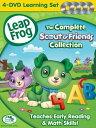 リープフロッグ DVD4枚セット The Complete Scout & Friends Collection■北米版DVD■フォニックス入門編としてもお勧めです 知育