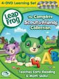 リープフロッグ DVD4枚セット The Complete Scout & Friends Collection■北米版DVD■フォニックス入門編としてもお勧めです 知育☆レビュー