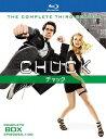 CHUCK チャック サード・シーズン コンプリート・ボックス〈4枚組〉【Blu-ray/洋画アクション スパイ】