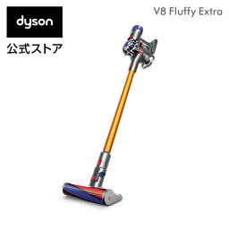 <strong>ダイソン</strong> Dyson V8 Fluffy Extra サイクロン式 <strong>コードレス</strong><strong>掃除機</strong> dyson SV10FF EXT