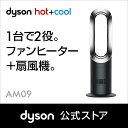 ダイソン Dyson Hot Cool AM09BN ファンヒーター 暖房 ブラック/ニッケル 【新品/メーカー2年保証】