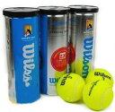 ★全豪オープンテニス オフィシャルボール★ ウィルソン製 3球入り×3缶 オーストラリアンオープン テニスボール ※缶に凹みあり