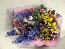 花・色とりどりのミックスブーケ・・・豪華板