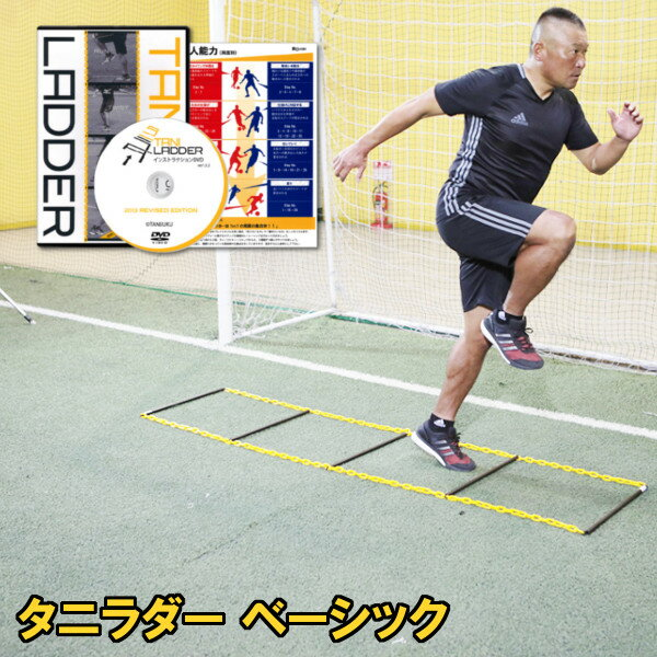 タニラダーベーシックシングルセット(サッカー版)DVDセットラダートレーニング
