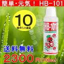 【只今、ポイント10倍進呈中】元気が簡単!天然活力剤 HB-101100mlサイズ×1(送料無料・同梱対策品としてご利用下さい)