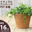 テラコッタ植木鉢直径16cm×高さ13cm 植木鉢【植木鉢 モスポット※植物は別売り】植木鉢