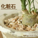 植物を、もっともっと素敵に飾る!ナチュラルな色味。どんな植物、どんな鉢でもよく似合います!化粧石(マルチング飾り石)の小袋350g【小さめの鉢なら2〜3鉢に使用...