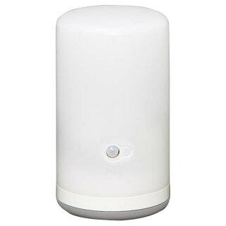 送料無料LEDセンサーライト乾電池式LEDセンサーライトBSL-10Lホワイト【アイリスオーヤマ防災防犯室内廊下階段足元人感センサー付節電省エネ】