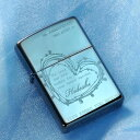 【ZIPPO ライター】【ZIPPO 名入れ】【名入れ プレゼント】 オリジナルZIPPO:サファイア