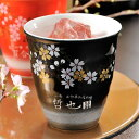 【名入れ専門】【名入れギフト 陶器】有田焼陶器カップ 赤富士 焼酎カップ