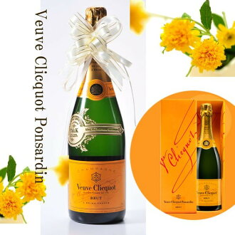 Name gifts put half bottle Veuve-Clicquot Veuve Clicquot Ponsardin 720 ml (/ gifts / gift set / 内 祝 I / marriage 内 祝 I / wedding / return / gifts / father's day / mother's day / grandparents / 60th birthday celebration / tag / name put the name into / gi