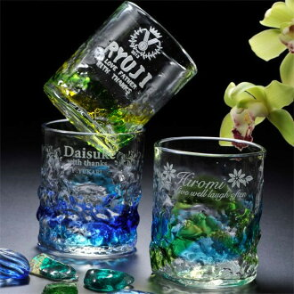 Resurrection restocked Ryukyu glass original beauty from sea rock tumbler