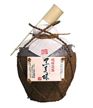八重泉 黒真珠 5升壷 43度/9000ml【沖縄】【泡盛】【送料無料】