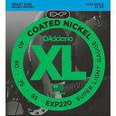 Daddario ダダリオ ダダリオ コーティング・ベース弦 EXP220 1セット 仕入先在庫品【10P03Dec16】