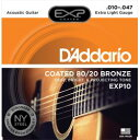 Daddario ダダリオ ダダリオ コーティング・アコースティック弦 EXP10 仕入先在庫品【10P03Dec16】