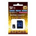 SuperTalent UHS-I Class10 対応 microSDXCカード 256GB ST56MSU1P 目安在庫=△【10P03Dec16】