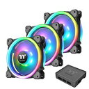 Thermaltake Riing Trio PLUS 12 RGB Radiator Fan TT Premium Edition -3Pack-(CL-F072-PL12SW-A) 目安在庫=△【10P03Dec16】