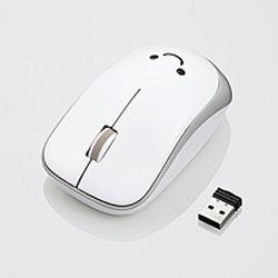 為紅外滑鼠 /ENELO 系列 / 無線 / 3 按鈕 / 電部 / 白色 M IR07DRWH 製造商投放專案