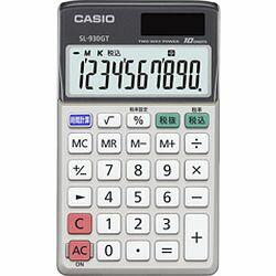 カシオ計算機 カシオ 電卓 10桁 手帳タイプ グリーン購入法適合 SL-930GT-N メーカー在庫品【10P03Dec16】