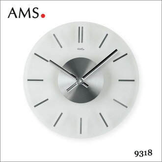 AMS manufactured arms by Germany wall quartz clock wall clock AMS-9318 upup7
