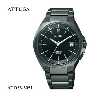 CITIZEN citizen ATTESA atessa eco-drive radio watch mens watch ATD53-3051fs3gm