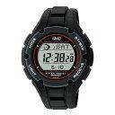 シチズン Q&Q SOLARMATE デジタル腕時計 ソーラー電源
