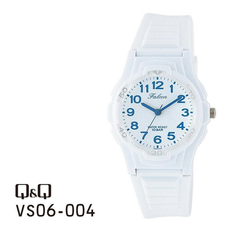 シチズン Q&Q ファルコン アナログ 腕時計 白 チプシチ VS06-004