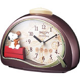 Citizen CITIZEN rhythm clock スヌーピク clock SNOOPY character watch Snoopy R506 4SE506MJ09fs3gm