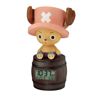 Rhythm watch キャラクターク locking ONE PIECE one piece Tony Tony chopper alarm clock alarm clock 8RDA51RH06fs3gm