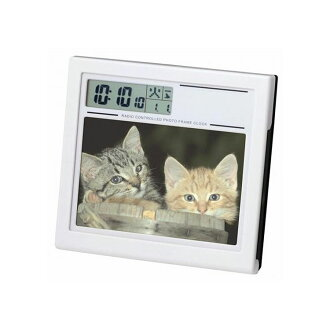 Graduation memorabilia you like? Radio clock photo frame clock alarm clock table clock Adesso C-8139