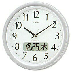 ★ ★ wrapping free ♪ ♪ ◆ ネムリーナ calendar M02 clock clock rhythm clocks calendar display with LCD clock radio 4FYA02-019fs3gm