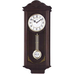 "Quartz wall clock ""シェジュール"" 4MJA02-006fs3gm with citizen rhythm fob pendulum"