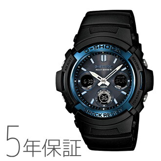 [Domestic authentic product in Japan] [DM Express not available] [Free Delivery in Japan(except Hokkaido and Okinawa islands region) ]CASIO  Solar-Powered Radio-Controlled  Watch G-SHOCK AWG-M100A-1AJF