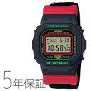 G-SHOCK Gショック DW-5600THC-1JF カシオ CASIO ウインタープレミアム スローバック1990s デジタル 赤 レッド 緑 腕時計 メンズ