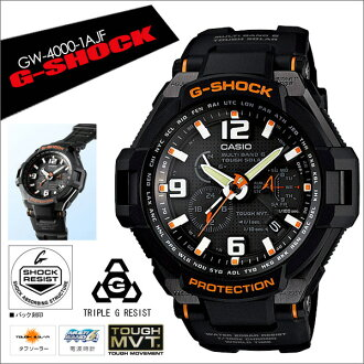 "[Japanese authentic products]  [DM Express not available][free shipping in Japan (except Hokkaido, Okinawa, and outlying islands) CASIO G-SHOCK men's watch of ""SKY COCKPIT Yujia sky"" series GW-4000-1AJF"