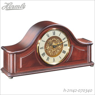 h-21142-070340fs3gm for global brand leader HERMLE (Hel heat) table clock clock eight days with winding Westminster chime