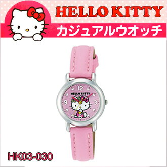 It is good to a present! Hello kitty watch HELLO KITTY WATCH casual watch citizen Q&Q HK03-030fs3gm
