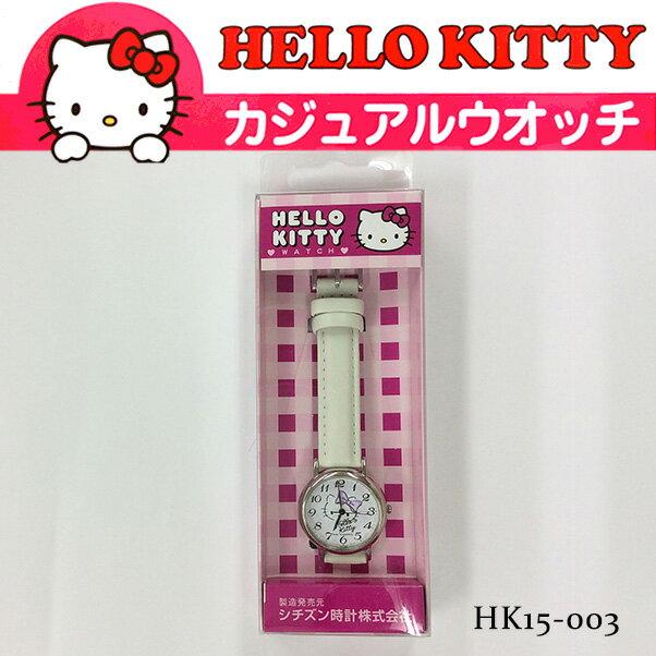 シチズン Q&Q HELLO KITTY WATCH ハローキティ カジュアルウォッチ 腕時計 HK15-003 レディース