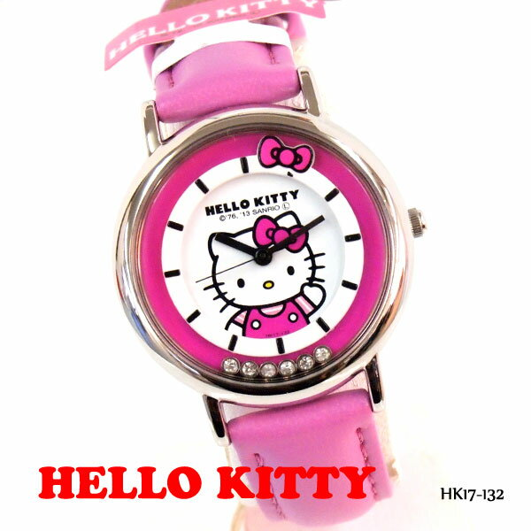 ハローキティ 腕時計 HELLO KITTY WATCH カジュアルウォッチ シチズン Q&Q HK17-132 レディース