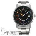 オリエント ORIENT スタイリッシュ&スマート DISK レインボー メンズ 機械式 日本製 腕時計 WV0761ER お取り寄せ