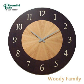 p-030-teseo marquetry ware upup7 made in Italian handmade design clock wall clock Pirondini (pyrone Dini) company