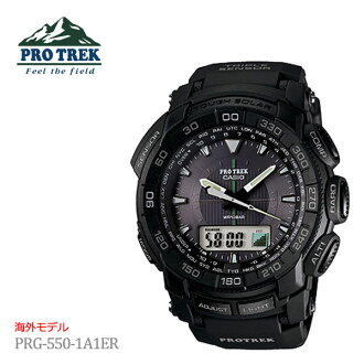 ◆ Super sale price of the stock as long as ◆ ★ overseas models ★ CASIO Casio PROTREK protrek PROTRECK tough solar triple sensor mens watch PRG-550-1 A1ER