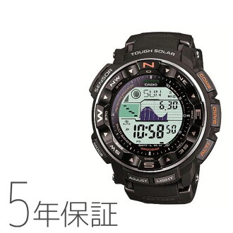 ★(Hokkaido, Okinawa, remote island )★ CASIO Casio PRO TREK proto Lec men watch PRW-2500-1JFupup7 removing it)