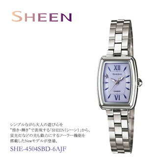 CASIO Casio SHEEN scene ladies watch SHE-4504SBD-6AJFfs3gm