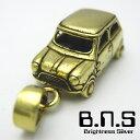 クラシックカーペンダント 1【ミニ】 ブラス 真鍮 (旧車 英車 英国車 イギリス車 自動車)