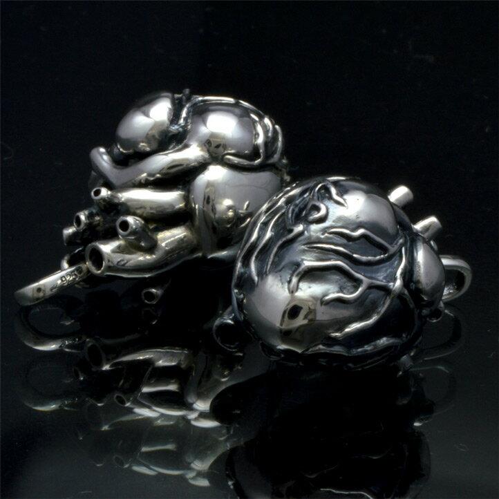 銀の心臓 シルバーハートペンダント 銀製 シル...の紹介画像2