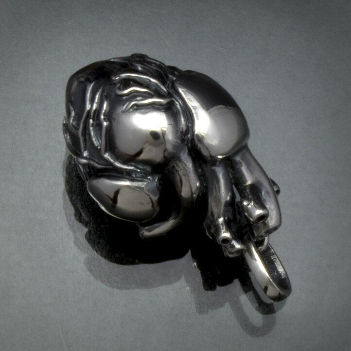 銀の心臓 シルバーハートペンダント 銀製 シル...の紹介画像3